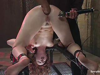 Cum Loving Whore Has Her Clit Vi...