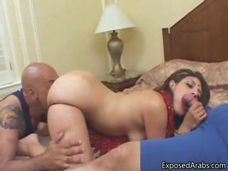 Nice Arab Girl Gets Fucked Doggy...