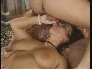 Mommy Milking her Boy's Cum into her Mouth
