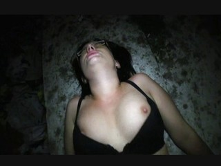 Outdoor student fucking