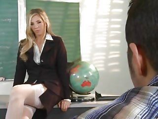 Horny Teacher Jordan Kingsley Is...