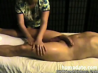 Slow Handjob,Balls Massage