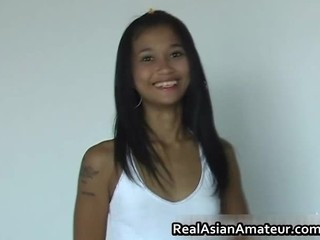 Dildoing Asian Teen Rammed Hard...