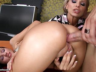 Sasha Rose Gets Her Sexy Ass Plunged By A Throbbing Cock