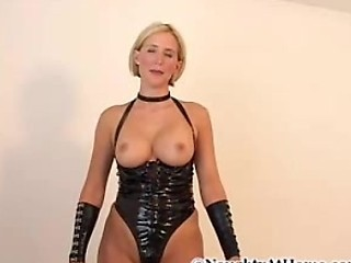 Amateur Amazing Blonde Latex MILF Wife