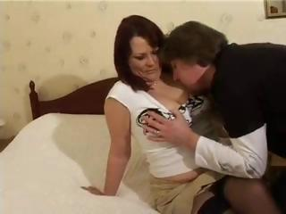 Mature British Housewife Christina Gets Another Man To Fuckher
