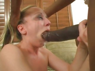 Sleazy Zoe Matthews gags upstairs this chocolate gout stopper