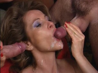 mature over 50 swallows cum