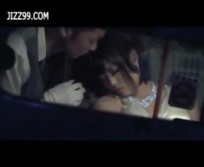 Drunk Girl Fucked By Chauffeur In Taxi 02