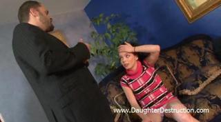 Young Daughter Abused Hard
