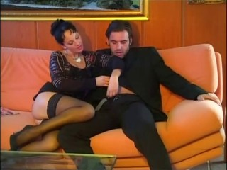 Luna Lombardi - Anal & Stockings