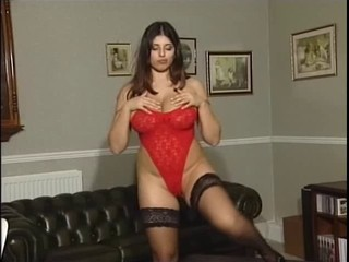 Kerry Marie thither Red Bodysuit