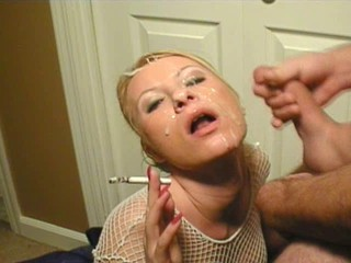 Cumshot Facial Smoking