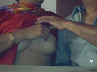 Old Indian Couple In Cam