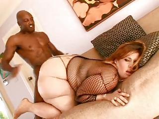 Gigantic Ass Chick Fucked By Black