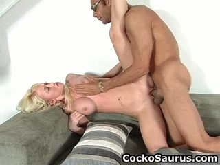 Busty Blond Crying