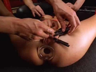 Slave Girl Kinky Belladonna Gets Ass Toy Fucked Duri...