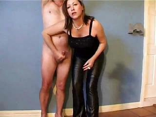 Dark-haired whore has never realized how hung her man was