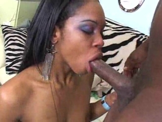 Hot African Antelope Is Nailed Hard By Ebony Rod
