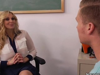 Julia Ann Hints To Student To...
