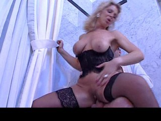 Anal Big Tits Blonde Corset Italian Mature Pornstar Riding Stockings