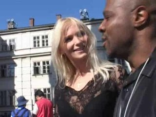 Black guy finds a hot young white girl to go home with