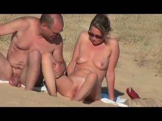 Hidden vid of French woman on...