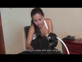 harsh lesson in boot worship