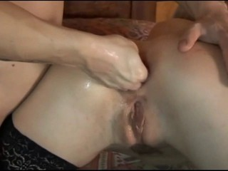 blonde assfucked and -fisted