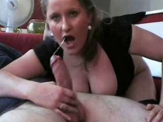 Hot milf suck fuck and creampie