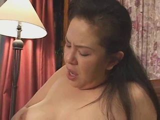 Mature Asian Lady Fingered and Licked
