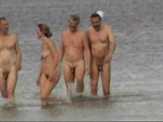 Amateur Video From Nudist Beach