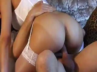 Cute babe loves to suck cock and get her ass fucked real deep