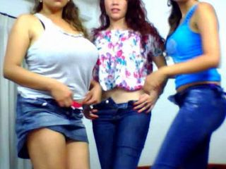 Webcam trio