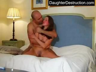 Cute young teen destruction...