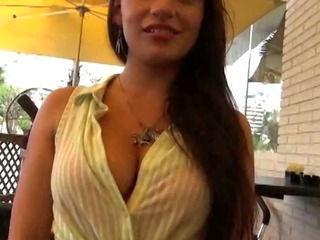 Sexy Slut Shows Her Tits And Pussy In Public