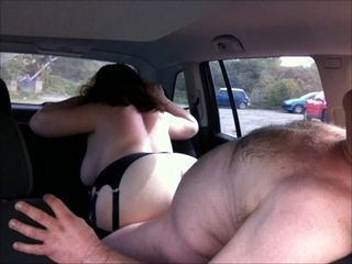 Amateur Car Chubby Doggystyle Older Public Wife