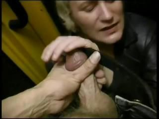 Unenjoyable nestlecock with a scandalous gretchin's grabber gets naughty on the train
