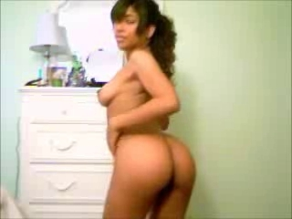 Mexican Teen Showing Off Her Body