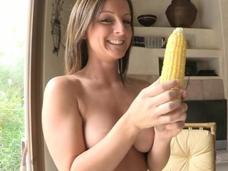 Melissa uses real buttered corn...