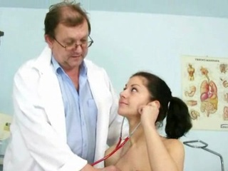 Perverted Doctor Examining His Patient