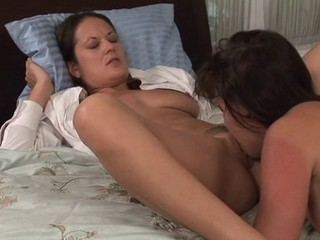 MILF and Girl Strap It On