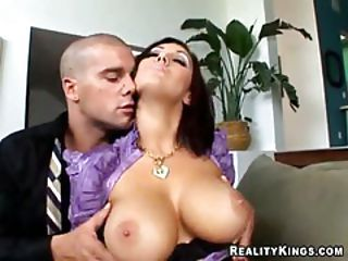 Boss Gets Titty Fucked