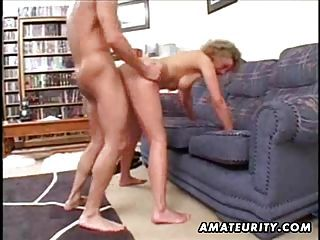 Mature Amateur Housewife Homemade Fuck With Cumshot
