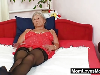 Ugly Grandma Cecilie Toys Her  H...