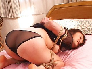 Japanese Slave Bound And Used