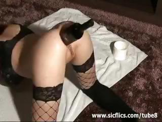 Extreme Anal Bottle Fuck