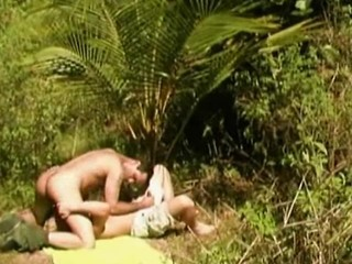 Amateur Sex In The Forest