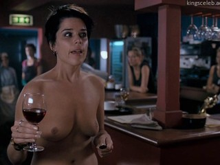 Neve Campbell Really Hate My Job (Topless)