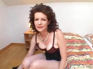 Hairy Mother Loves Perfidious Cock